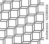 geometric monochrome seamless...