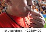 referee. | Shutterstock . vector #422389402