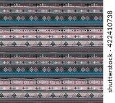 ethnic boho seamless pattern.... | Shutterstock .eps vector #422410738