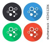 infographic vector icon  ... | Shutterstock .eps vector #422411206