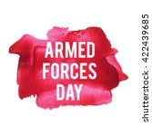 armed forces day holiday ... | Shutterstock .eps vector #422439685