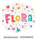 Flora Girls Name Decorative...