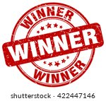winner. stamp | Shutterstock .eps vector #422447146