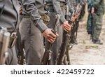 training police patrols stand... | Shutterstock . vector #422459722