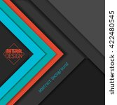 material design wallpaper ... | Shutterstock .eps vector #422480545