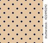 vintage orange seamless pattern ... | Shutterstock .eps vector #422490292