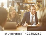 business people discussion...   Shutterstock . vector #422502262