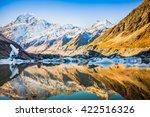 aoraki mount cook national park ... | Shutterstock . vector #422516326