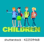 vector detailed character flat... | Shutterstock .eps vector #422539468