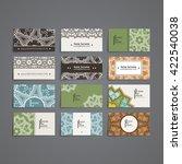 set of vector design templates. ...   Shutterstock .eps vector #422540038