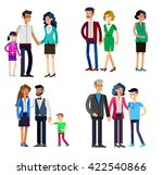 detailed character people... | Shutterstock .eps vector #422540866