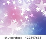 Star Bokeh Colorful Background