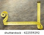 Measuring Tape On Table...