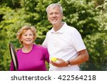 portrait of  an active senior...   Shutterstock . vector #422564218