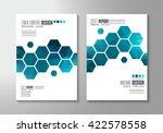 brochure template  flyer design ... | Shutterstock . vector #422578558