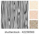seamless editable wood pattern.   Shutterstock .eps vector #42258583