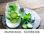 Refreshing Water With Cucumber...