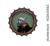 emblems of dog club. choice  of ... | Shutterstock .eps vector #422610562