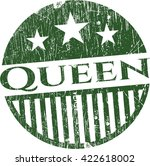 Queen Rubber Grunge Texture Seal