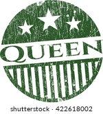 Queen Rubber Grunge Texture Seal