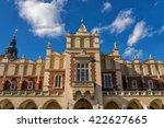 cloth hall in krakow | Shutterstock . vector #422627665