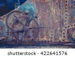 vintage style tinted snapshot... | Shutterstock . vector #422641576