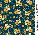 seamless pattern in small... | Shutterstock .eps vector #422659732