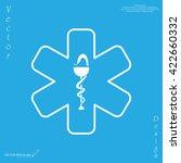 medicine  ambulance  icon | Shutterstock .eps vector #422660332