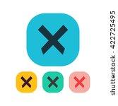 vector illustration of cancel...