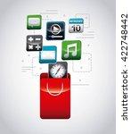 app store design  | Shutterstock .eps vector #422748442