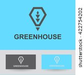 business icon   greenhouse ... | Shutterstock .eps vector #422754202