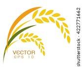 rice vector | Shutterstock .eps vector #422771662