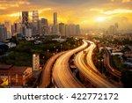 Kuala Lumpur Skyline In The...