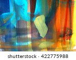 Abstract Paint Background...