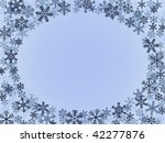 winter frame | Shutterstock .eps vector #42277876