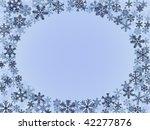 winter frame | Shutterstock .eps vector #42277876