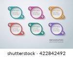vector infographic template | Shutterstock .eps vector #422842492