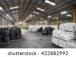 abstract blur warehouse... | Shutterstock . vector #422882992