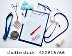 medical things | Shutterstock . vector #422916766