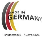 made in germany modern | Shutterstock . vector #422964328