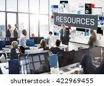 resources employee hiring... | Shutterstock . vector #422969455