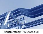 oil pipeline  | Shutterstock . vector #423026518