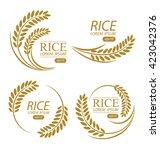 rice. vector illustration.   Shutterstock .eps vector #423042376