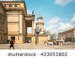 berlin  germany  may 18  2016 ... | Shutterstock . vector #423051802