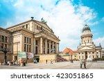 berlin  germany  may 18  2016 ... | Shutterstock . vector #423051865