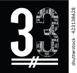 slogan typography  t shirt... | Shutterstock .eps vector #423138628