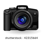 photo camera isolated on white | Shutterstock .eps vector #42315664
