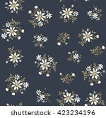cute pattern in small flower.... | Shutterstock .eps vector #423234196
