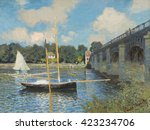The Bridge At Argenteuil  By...