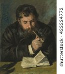 Claude Monet  By Auguste Renoir ...